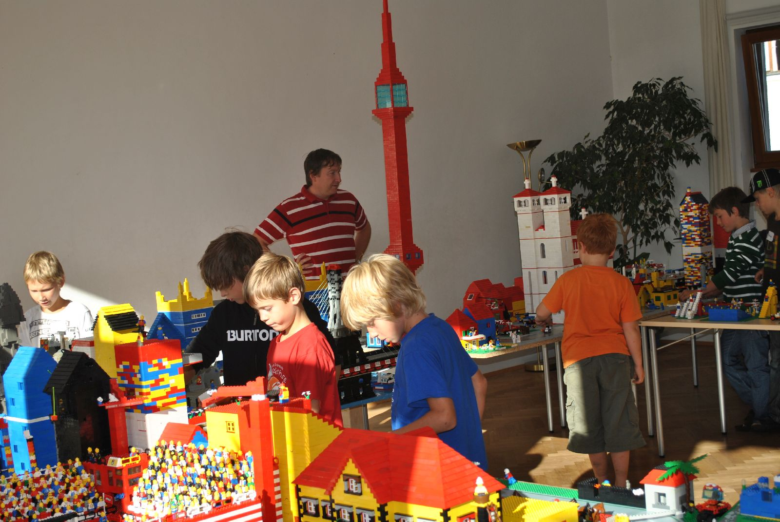 Legobautage