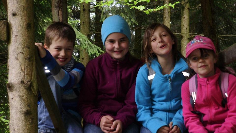 Familienwanderung Seisenburg 2014