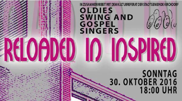 Konzert der Oldies Swing And Gospel Singers